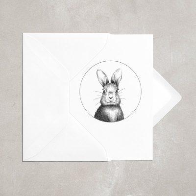Bunny Card A6